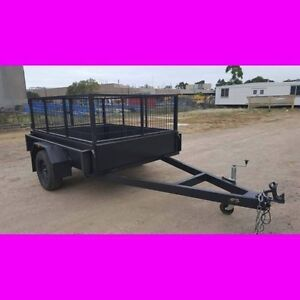 7x5 BOX TRAILER HEAVY DUTY CAGED 1 PCE FOLD LOCAL MADE 2 South Windsor Hawkesbury Area Preview