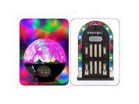 Jukebox & led disco ball brand new in boxes