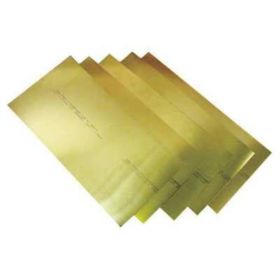 Precision Brand 17545 Shim Stock Assortment Brass 12 Pc