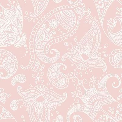 4 x Paper Napkins - Paisley Rose - Ideal for decoupage / Napkin Art