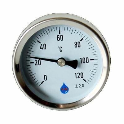 Industrial Temperature Metal Gauge Dial Probe 1/2