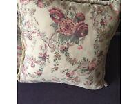 Vintage Laura Ashley cushion. Large