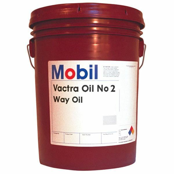 Mobil 98919D 5 Gallon Vactra #2 Way Oil Lubricant