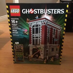 Lego set- Ghostbusters firehouse headquaters