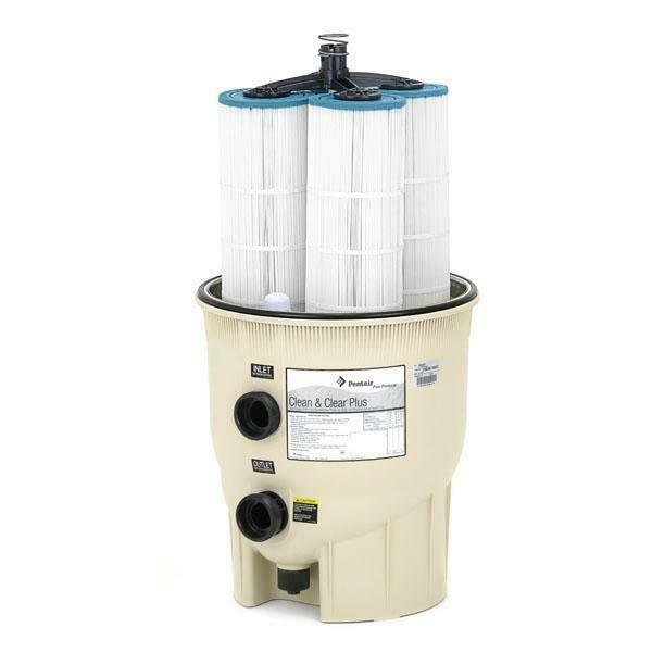 EC-160301 - 420 sq. ft. In Ground Pool Cartridge Filter - Limited Warranty
