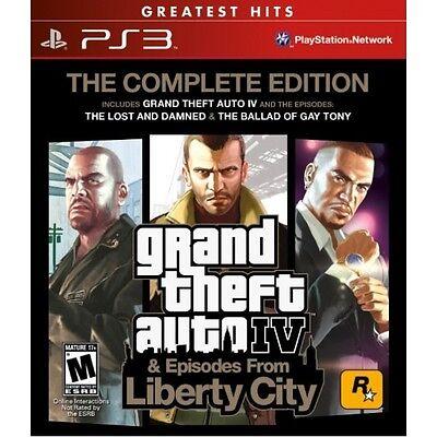 Rockstar Grand Theft Auto Gta 4 Iv (the Complete Edition)...