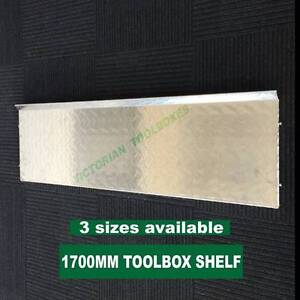 1700mm Wide Aluminium Toolbox Shelf Campbellfield Hume Area Preview