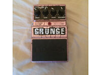 Digitech Grunge Distortion Guitar Effects Pedal In Great Condition, Fully Working