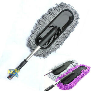 large cotton car truck wash cleaning wax brush mop duster. Black Bedroom Furniture Sets. Home Design Ideas
