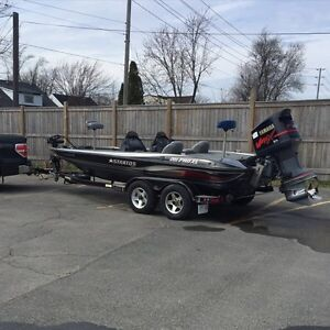 Stratos 201 pro xl bass boat for sale