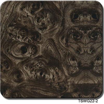 Hydrographics Film Titanium Walnut Wood Grain 39 X 39