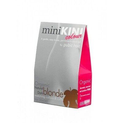 miniKini Organic Permanent Dye Colour Best For Bikini Hair Natural Dark