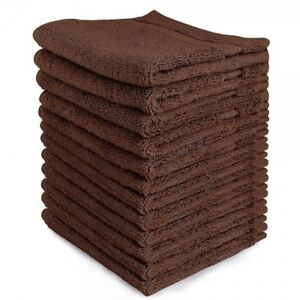 Brown Towels for Hotels Motels & Rentals