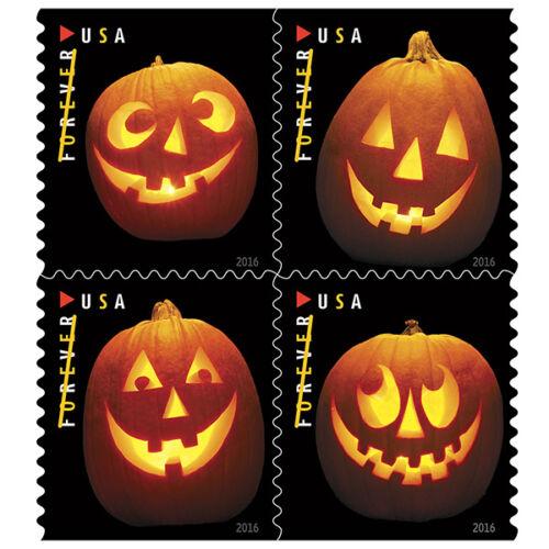 Купить USPS New Jack-o-lanterns booklet of 20