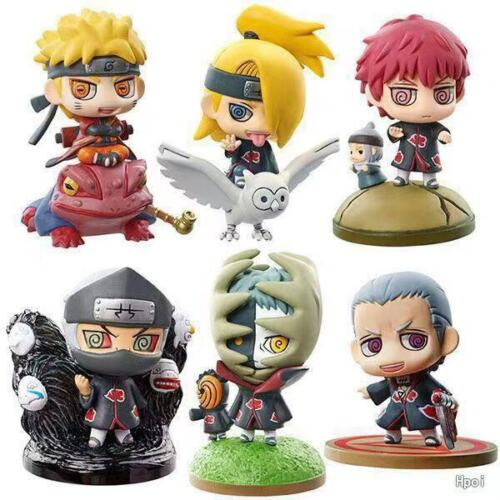 Naruto 1 pcs Mini Action Figures: Naruto Akatsuki & More