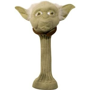 New - Star Wars 'Yoda' Golf Club Driver Novelty Headcover