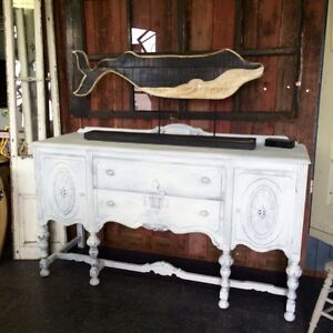 ANTIQUE REFINISHED Sideboard $565 this week!