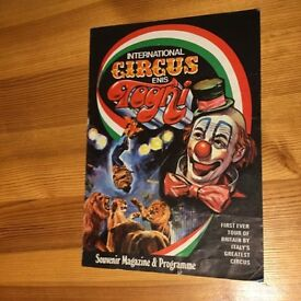 Vintage Circus Programme