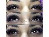 Eyelash extensions, eyelash lift, cnd gel nails