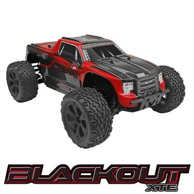 Redcat Racing Blackout XTE 1/10 Monster Truck - Red
