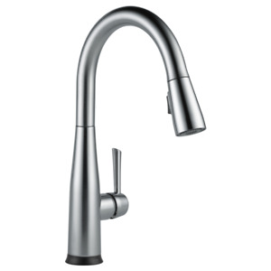 Delta Single Handle Pull-Down Kitchen Faucet With Touch20 Tech