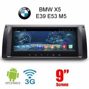 BMW X5 E39 E53 M5 auto pc radio GPS android 6.0 wifi navigation