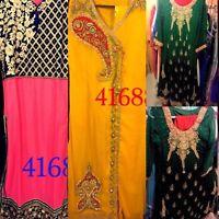 Pakistani indian shalwar kameez fancy suit dresses lawn cotton