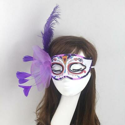 Sexy Damen Feder Maske Augenmaske Masquerade Halloween Kostüm - Sexy Feder Kostüme