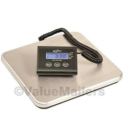 330 Lb Digital Shipping Scale Postal Bench Scales W/AC