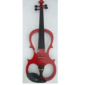 new 4/4 electric violin kit with case bow rosin