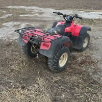 1999 Suzuki Quadrunner with ownership for sale or TRADE
