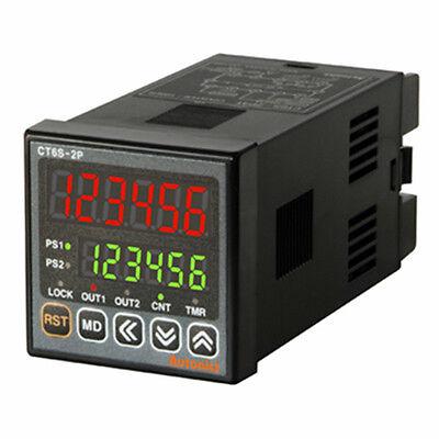 Industrial Digital Timer Counter Ct6s-2p2 Dual Preset Dc 24-48v Ac 24v
