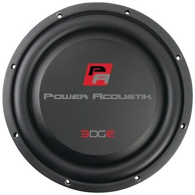 - Power Acoustik EW-124S 12 in. Edge Shallow Series 4 ohm Subwoofer