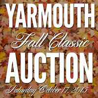 Yarmouth Fall Classic Auction Saturday Oct. 17, 2015