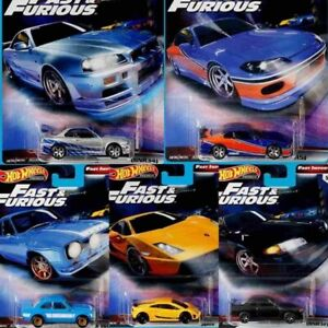 Hotwheels Fast and Furious set complete
