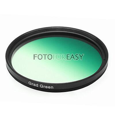 67mm 67 mm Graduated Green Color Conversion Lens filter For Digital DSLR SLR Cam Digitale Slr-cam