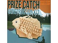 Prize Catch Construction Kit Wooden Build Your Own Carp Fishing 3D Model