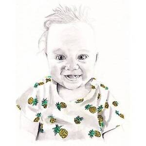 Baby, Children, Family and Wedding Illustrations / portraits Brisbane City Brisbane North West Preview