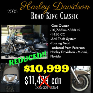 REDUCED! Harley Davidson Road King Classic
