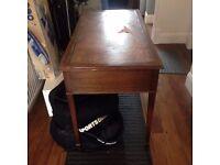 Desk and 3 draws (antique)