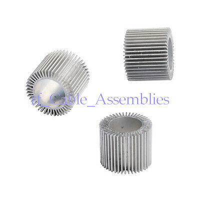 10pcs 3watt Led Industrial Extrusion Aluminum Heatsink Round Sun Flower Radiator