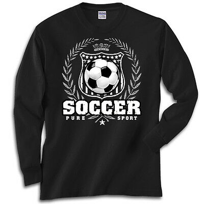 Soccer Laurel T-Shirt Jersey Long Sleeve or Short Sleeve New Youth and Adult