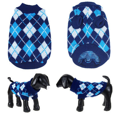 SMALL DOG Christmas Dog Sweater Xmas Winter Holiday knit (Doggy Christmas)
