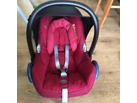 Maxi Cosi Cabriofix with icandy adaptors if needed