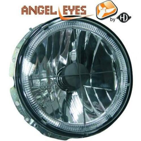 Angel eyes koplampen Volkswagen Golf 1 Zwart