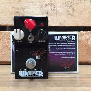 Wampler Velvet Fuzz Effects Pedal Moorooka Brisbane South West Preview
