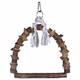 BNWT Bird Swing,4 x Cotton Perch,2 x Large Geometric Chain