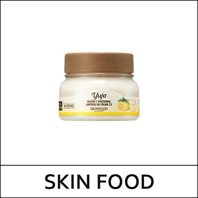 [Skin Food] SkinFood Yuja Water C Whitening Ampoule In Cream 2X 70ml / (1UL2)