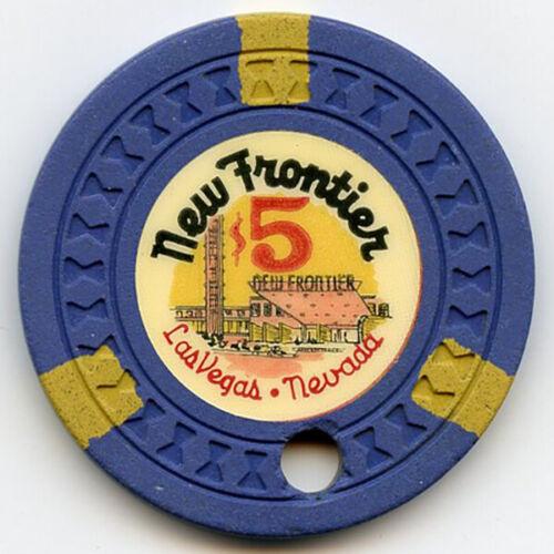 New Frontier Hotel/Casino - Las Vegas - $5 Chip -1956