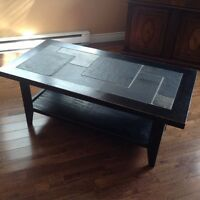 Custom coffee table & End table